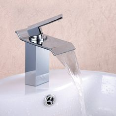 Angle Simple M1302 Contemporary Single Handle Waterfall Bathroom Vanity Sink Faucet with Extra Large Rectangular Spout, Chrome Angle Simple http://www.amazon.com/dp/B00KE6KPQY/ref=cm_sw_r_pi_dp_ZwmOvb1FXKK8Z
