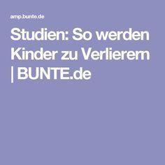 Studien: So werden Kinder zu Verlierern | BUNTE.de