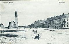 Sør-Trøndelag fylke Trondheim Trondhjem  LADEMOENS KIRKE i 1905 Utg Werner postgått 1906