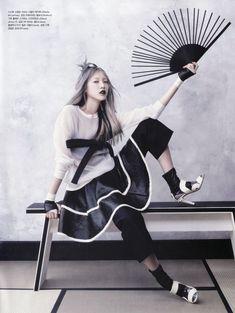 """Martial Arts"" : Soo Joo Park : Vogue Korea June 2013 : Hyea-Won Kang (loving the skit here) Vogue Korea, Vogue Japan, Asian Fashion, Fashion Art, Editorial Fashion, Fashion Models, Fashion Design, Tim Walker, Gothic Fashion Photography"