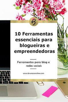 Dicas para blogueiras: Ferramentas para blog e redes sociais que facilitarão sua vida no dia a dia. São recursos para captar e-mails de seus leiotres do blog. gestão de redes sociais, botão de compartilhamento e muito mais. Dicas para blog, blogueira empreendedora, marketing digital, estratégias para blog,  ferramentas para ajudar a crescer seu blog, recursos para blogs, blog de sucesso, blogger, blogging.