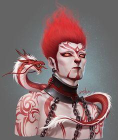 ArtStation - Blood clan, Shawn Fox
