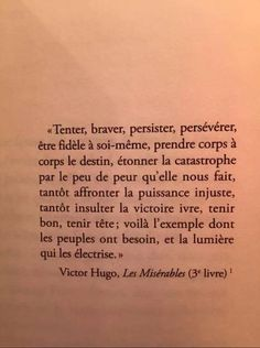 Mood Quotes, Life Quotes, French Expressions, Motivational Quotes, Inspirational Quotes, Victor Hugo, French Quotes, Sweet Words, Thing 1