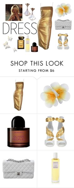 """Untitled #143"" by pakapaka ❤ liked on Polyvore featuring Monsoon, Byredo, Giuseppe Zanotti, Chanel, Rodin and Giorgio Armani"
