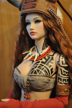 Iplehouse EID Lahela in Special Edition outfit and body tattooing
