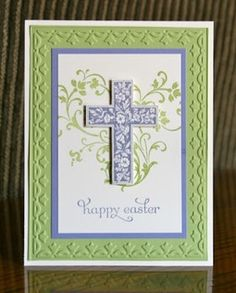 stampin up peaceful wishes | Stampin' Up! Card by Krystal De Leeuw at Krystal's Cards and More ...