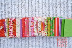 Heather Ross fabrics for Swedish Bloom Quilt | by wooden spoon