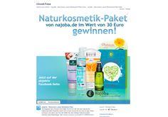 Gewinnt ein Naturkosmetik-Paket! Auf der facebook-Seite von objektiv könnt ihr noch bis zum 10. Juli 2014 ein Naturkosmetik-Paket gewinnen. Was im Paket steckt...