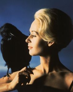 Tippi Hedren publicity photo for'The Birds', 1963.