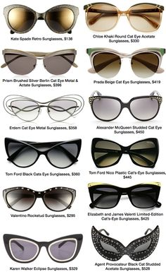 Especially love the Kate Spade.... cat eye glasses fashion trend 07 frames Cat Eye Glasses Fashion Trend