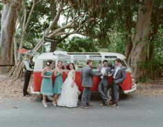 got to love a Kombi wedding! ;)  #australia #wedding #kombi