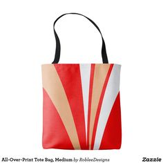 All-Over-Print Tote Bag, Medium