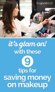 Tips for saving on your favorite makeup! Plus, a few must-haves that are easy on your wallet.