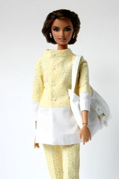 Jacket and pants for Barbie Silkstone Fashion Royalty dolls