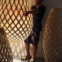 David Trubridge. #lighting #design #decor