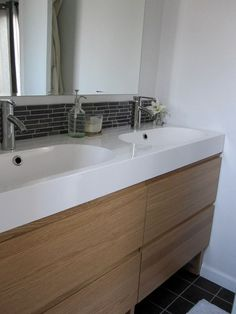 Bathroom Ideas Double Sink godmorgon odensvik white - google search | for the home