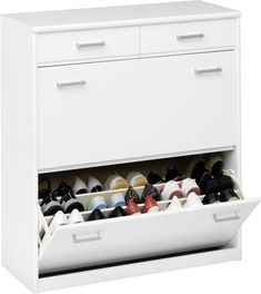 CS Schmal Soft Plus shoe cabinet 93 - Storage Web Storage, Shoe Storage Cabinet, Filing Cabinet, I Heart Organizing, Home Organization, Shoe Rack Furniture, Door Shoe Organizer, World Of Interiors, Italian Furniture