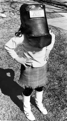 Six-year-old Dee Dee Odorisio got a unique view of the March 7, 1970, partial solar eclipse by watching through a neighbor's welding mask. The eclipse started around 11 a.m. and ended about 1:23 p.m., and its most noticeable meteorological effect was a dip in solar radiation. THE WORLD-HERALD