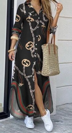 Elegant Maxi Dress, Classy Dress, Classy Outfits, Stylish Outfits, Latest African Fashion Dresses, Women's Fashion Dresses, Mode Outfits, Dress Outfits, Hijab Dress