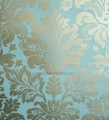 papeis de parede azul turquesa com dourados - Pesquisa Google