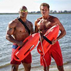 Baywatch Shorts Film Serie Kult Hasselhoff Rock Strand Lifeguard Fun Efron Fun