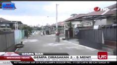 Gempa Kebumen - Video Amatir Merekam Kejadian Gempa di Kebumen 25 Januar...