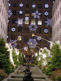 Rockefeller Center at Christmas #Travel