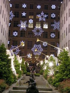 Rockefeller Center at Christmas #Travel
