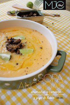 Anchovies Soup! (#268) #anchovies #lemon #lemonjuice