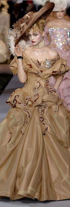 Christian Dior fall 2007 by John Galliano