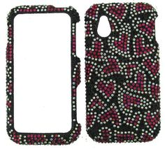 CRYSTAL BLING CASE FOR LG ARENA GT950 HOT PINK HEARTS BLACK by LG. $15.95. http://notloseyourself.com/showme/dpuld/Bu0l0d8lKnVrUe5xCuEc.html