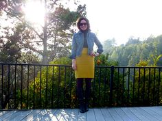 apples and pencil skirts