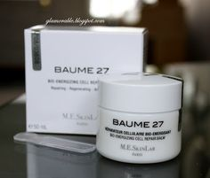 Cosmetics 27 by M.E. SkinLab Baume 27 Bio-Energizing Cell Repair Balm Review ~ Glamorable!