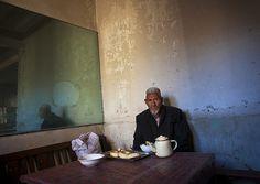 Old tea house in Kashgar, Xinjiang, China  http://itunes.com/apps/lafforgueHD