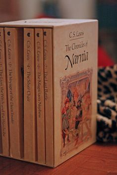 My favorites since 1982 Most people I know grew up reading The Lord of The Rings, I grew up with The Chronicles of Narnia.Most people I know grew up reading The Lord of The Rings, I grew up with The Chronicles of Narnia.