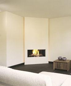 19 Cozy Corner Fireplace Design Ideas In The Living Room Corner