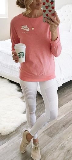 I could live in comfy outfit like this #FitnessOutfits