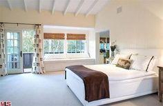 #SallyField's Master Bedroom >> http://www.frontdoor.com/buy/tour-sally-fields-malibu-home-for-sale/pictures/pg116?soc=pinterest#