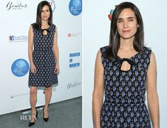 Jennifer Connelly In Louis Vuitton - UN Women For Peace Association International Women's Day Celebration - Red Carpet Fashion Awards Louis Vuitton Clothing, Young Actresses, Jennifer Connelly, Red Carpet Looks, Celebs, Celebrities, Red Carpet Fashion, Ladies Day, Clothes