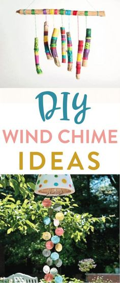 Gather up some simple materials and use them to create these  adorable DIY Wind Chime Ideas. We love making craft projects that we can use to  decorate our homes and wind chimes are no exception. #diy #crafts #teencrafts #projects #diycrafts #diyprojects  #fundiys #funprojects #diyideas #craftprojects #diyprojectidea #teencraftidea Seashell Wind Chimes, Bamboo Wind Chimes, Wind Chimes Craft, Crafts For Teens, Crafts To Make, Easy Crafts, Easy Diy Projects, Craft Projects, Craft Ideas