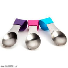 Quirky Mugstir 3 Pack Spoons That Hang On Mug Qi-Mst-1-Cw1