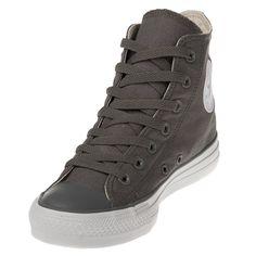 $64.99 Converse Chuck Taylor 122081 Charcoal/White Hi Top| zelenshoes.com