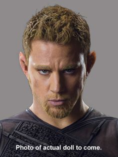 "Channing Tatum as Caine in ""Jupiter Ascending"" doll."