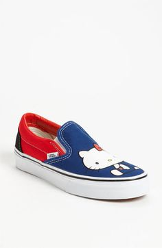 Vans 'Hello Kitty® Classic' Sneaker (Women) available at Nordstrom  i might wear these too  $27.47