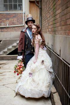 Steampunk Styled Shoot - Johannesburg Wedding Photographer