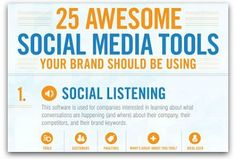 Infographic: The ultimate guide to social media tools | Articles | Main