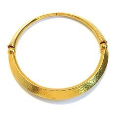 Ilias Lalaounis Gold Choker Necklace