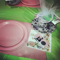 My bridal shower. Tea party ♥