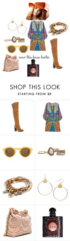 """#boots"" by petra-blefluf ❤ liked on Polyvore featuring Sam Edelman, CÉLINE, Lizzy James, Nadri, STELLA McCARTNEY and Yves Saint Laurent"