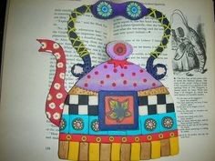 'Would you like some tea?' by idit.biton, via Flickr - Applique idea?